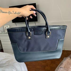 RALPH LAUREN   Navy blue purse
